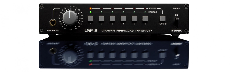 Stereovorstufen Funk LAP-2.V3 im Test, Bild 1