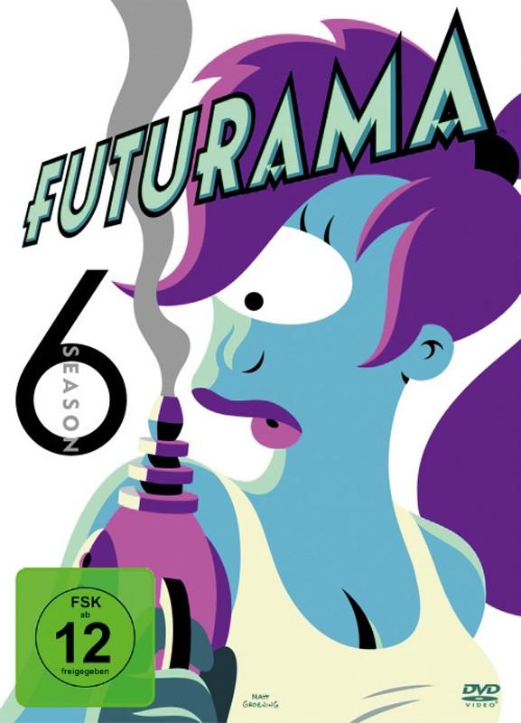 DVD Film Futurama – Season 6 (Fox) im Test, Bild 1