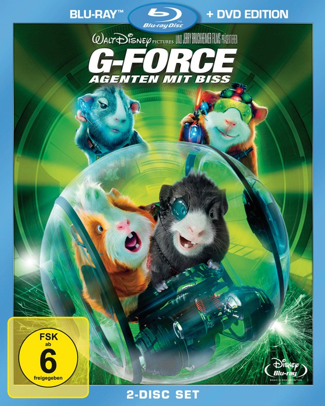 Blu-ray Film G-Force – Agenten mit Biss (Walt Disney) im Test, Bild 1