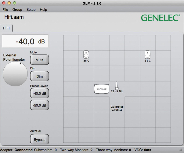 Aktivlautsprecher Genelec 8320 im Test, Bild 4