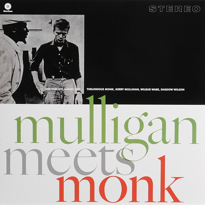 Schallplatte Gerry Mulligan & Thelonious Monk – Mulligan Meets Monk (WaxTime) im Test, Bild 1