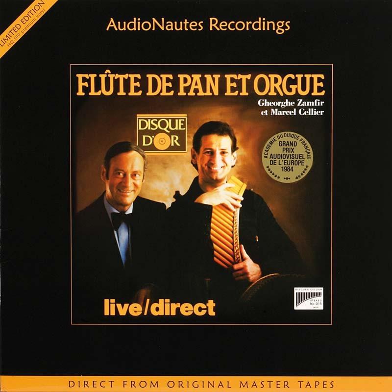 Schallplatte Gheorge Zamfir et Marcel Cellier – Zamfir/Celier: Flûte de Pan et Orgue (AudioNautes) im Test, Bild 1