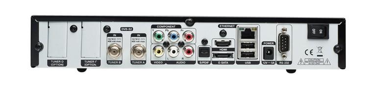 HDTV-Settop-Box Gigablue HD Quad im Test, Bild 2