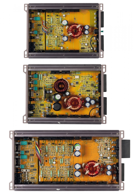 Car-HiFi Endstufe Mono Gladen Audio RC 600c1, Gladen Audio RC 90c2, Gladen Audio RC 70c4 im Test , Bild 2