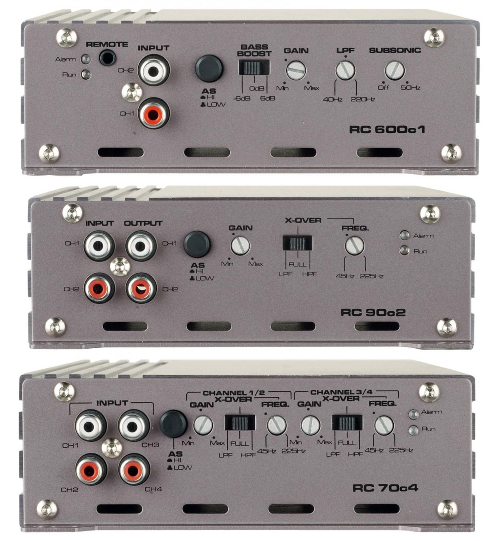 Car-HiFi Endstufe Mono Gladen Audio RC 600c1, Gladen Audio RC 90c2, Gladen Audio RC 70c4 im Test , Bild 3