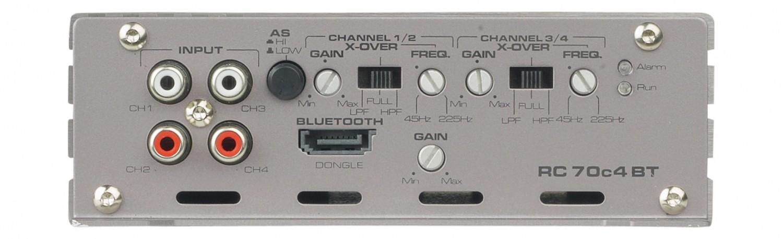 Car-HiFi Endstufe 4-Kanal Gladen Audio RC 70c4 BT im Test, Bild 2