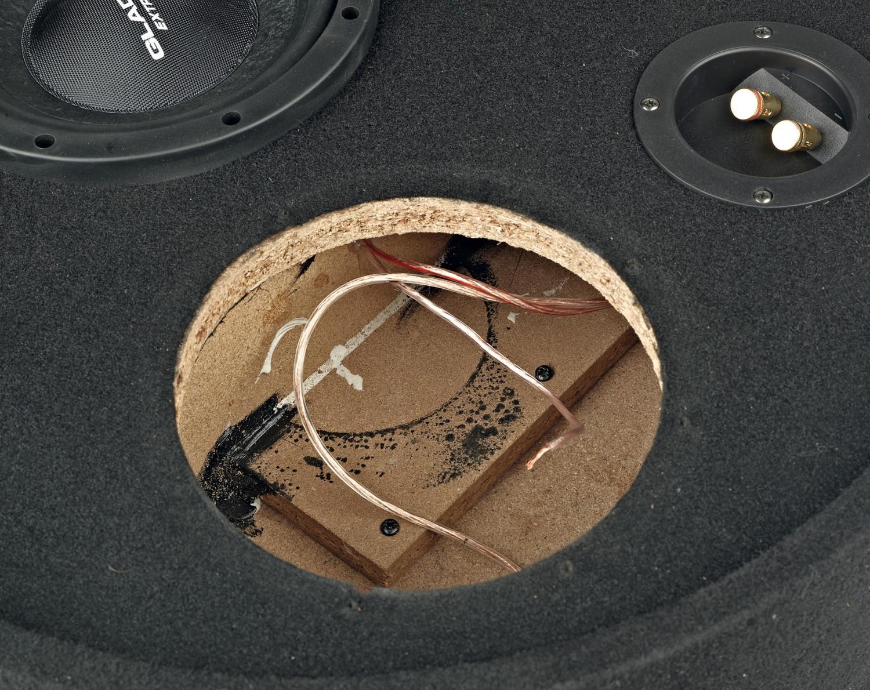 test car hifi subwoofer geh use gladen audio rs 08 rb. Black Bedroom Furniture Sets. Home Design Ideas