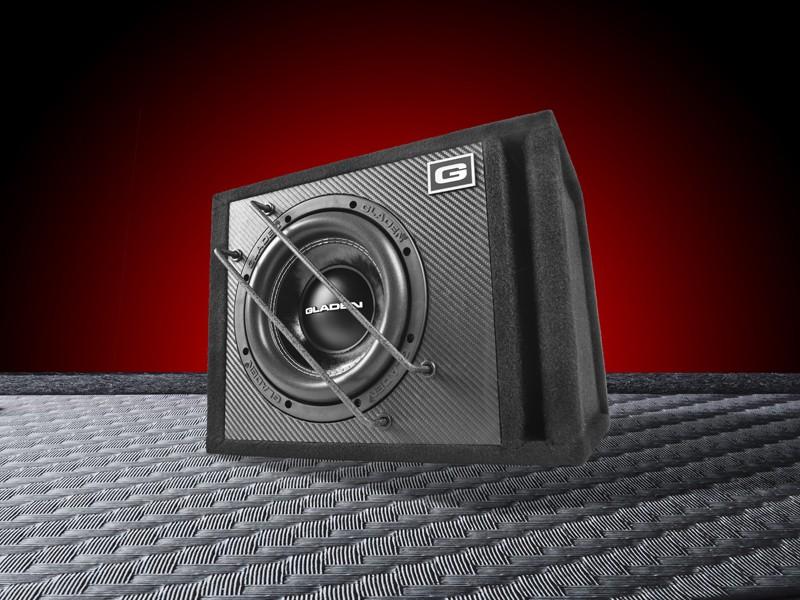 test car hifi subwoofer geh use gladen audio sqx 08 vb. Black Bedroom Furniture Sets. Home Design Ideas