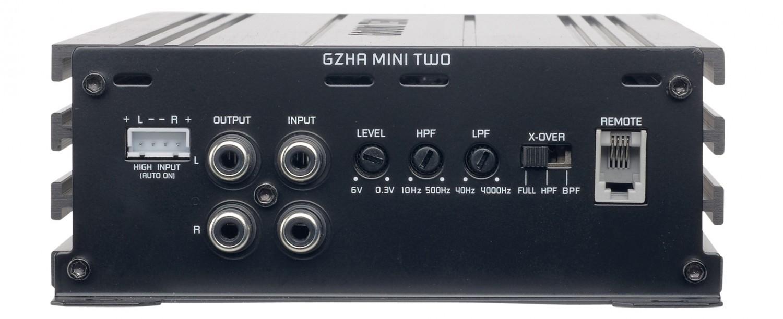 Car-HiFi Endstufe 2-Kanal Ground Zero GZHA Mini Two im Test, Bild 3