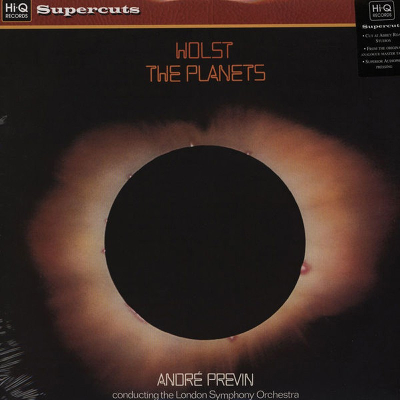 Schallplatte Gustav Holst, London Symphony Orchestra, André Previn – The Planets (Hi-Q Records) im Test, Bild 1