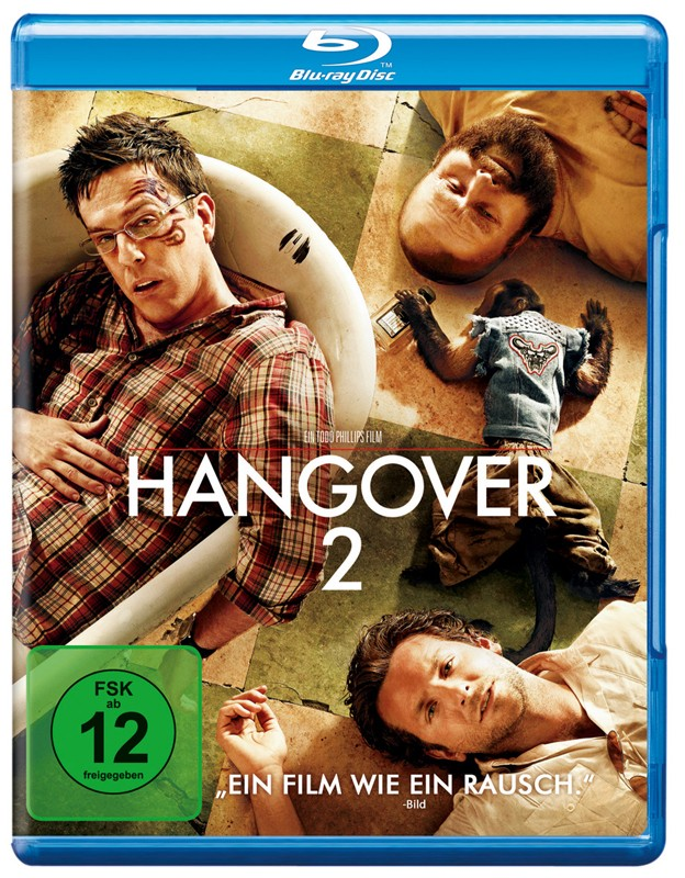 Blu-ray Film Hangover 2 (Warner Home) im Test, Bild 1