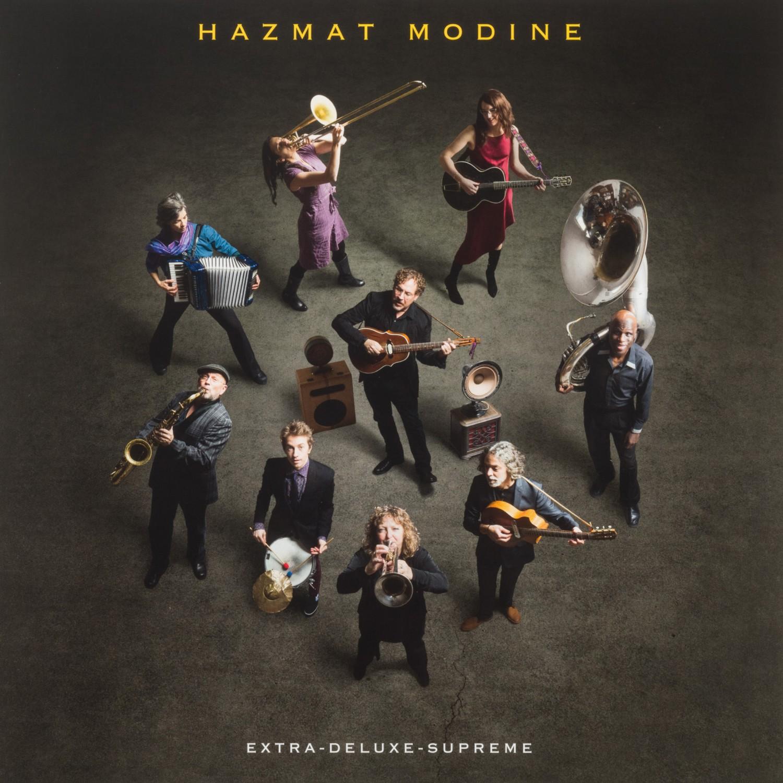 Schallplatte Hazmat Modine - Extra-Deluxe-Supreme (Jaro) im Test, Bild 1