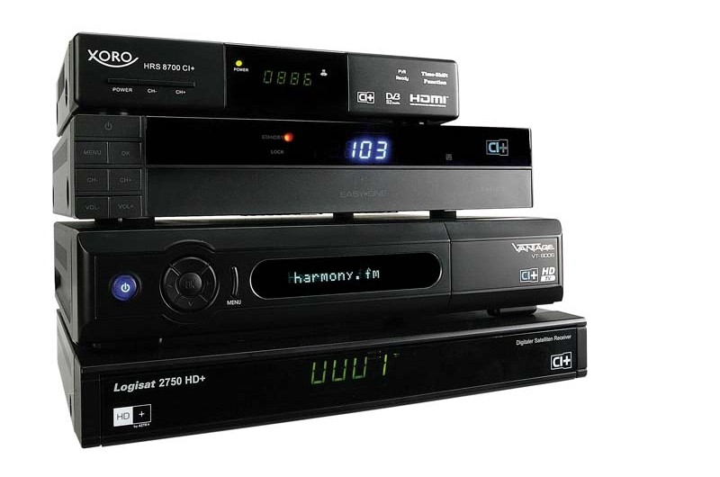 Sat Receiver ohne Festplatte: HDTV-Sat-Receiver mit CI+, Bild 1