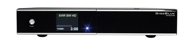 HDTV-Settop-Box Gigablue HD Quad im Test, Bild 1