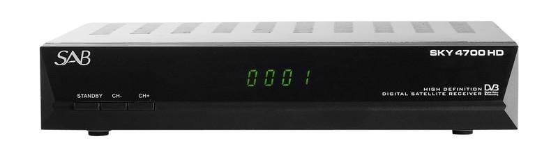 HDTV-Settop-Box SAB Sky 4700 HD im Test, Bild 1