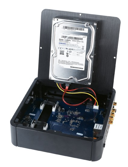 Multimedia-Festplatten HDXperience HDX1000 im Test, Bild 3