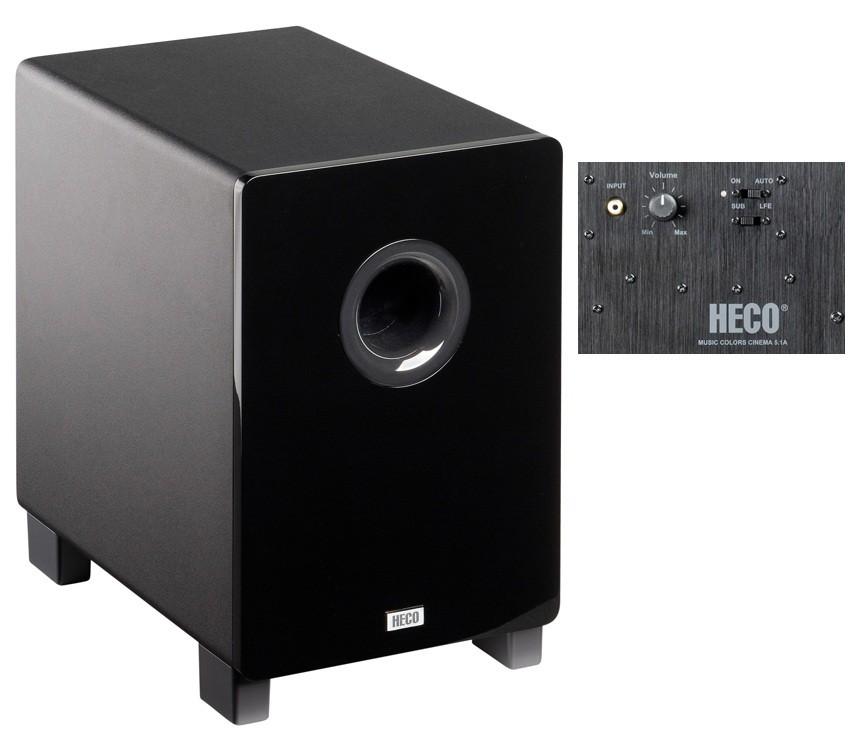 Lautsprecher Surround Heco Music Colors Cinema 5.1A im Test, Bild 6