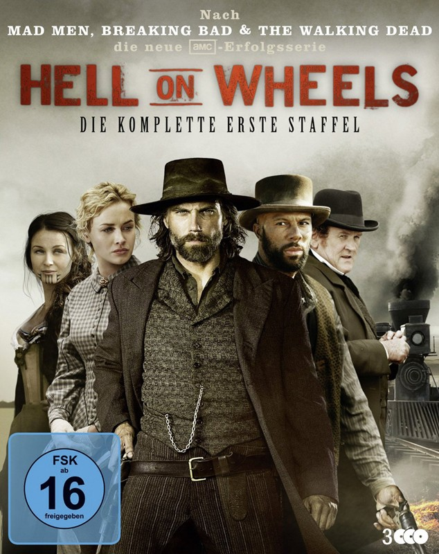 Blu-ray Film Hell on Wheels – Season 1 (WVG) im Test, Bild 1
