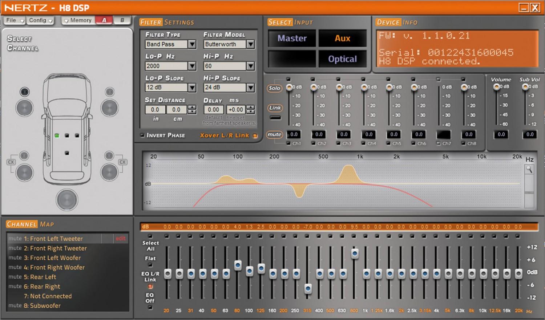 Soundprozessoren Hertz H8 DSP im Test, Bild 3