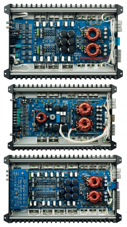 Car-HiFi Endstufe Mono Hifonics Brutus BRX3000 D, Hifonics Zeus ZRX6002, Hifonics Zeus ZRX6404 im Test , Bild 2