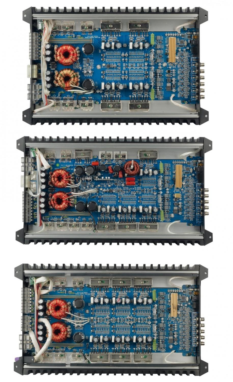 Car-HiFi Endstufe 4-Kanal Hifonics TRX4004 DSP, Hifonics TRX5005 DSP, Hifonics TRX6006 DSP im Test , Bild 2