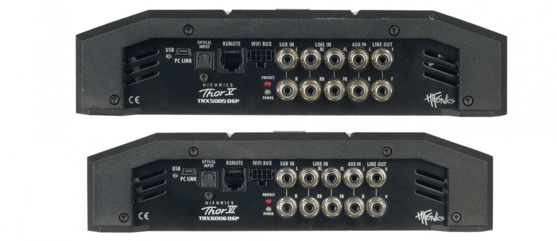 Car-HiFi Endstufe 4-Kanal Hifonics TRX4004 DSP, Hifonics TRX5005 DSP, Hifonics TRX6006 DSP im Test , Bild 3