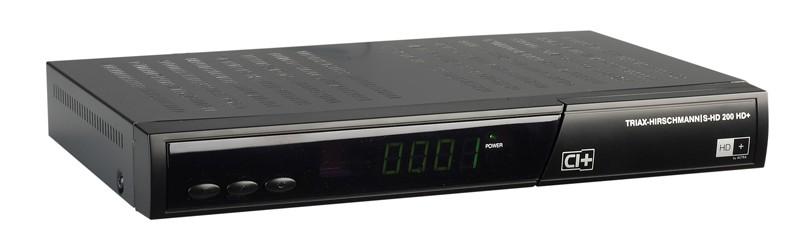 Sat Receiver ohne Festplatte Hirschmann S-HD200HD+ im Test, Bild 1