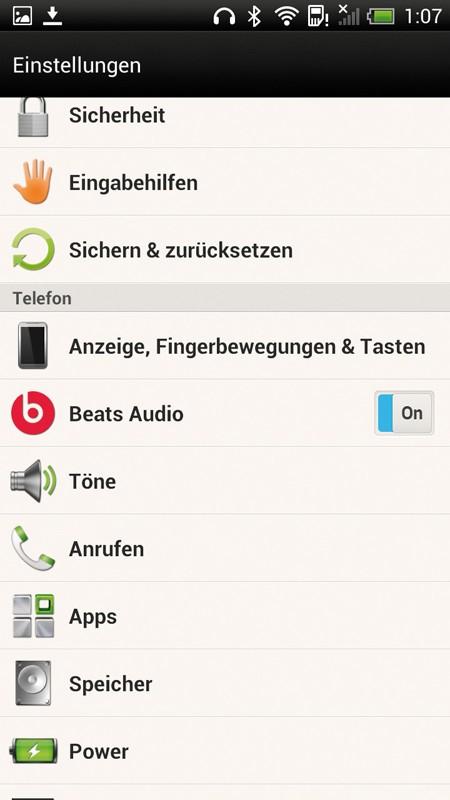 Smartphones Htc One X+ im Test, Bild 3