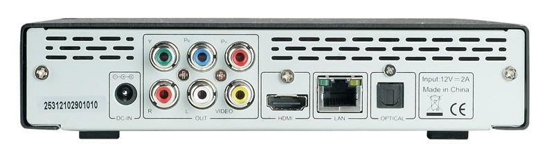 DLNA- / Netzwerk- Clients / Server / Player Icybox IB-MP3011 im Test, Bild 2