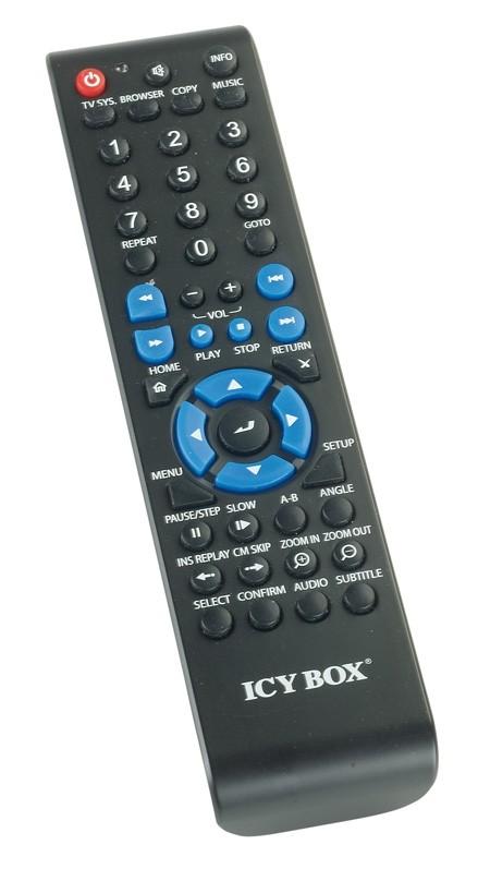DLNA- / Netzwerk- Clients / Server / Player Icybox IB-MP3011 im Test, Bild 3