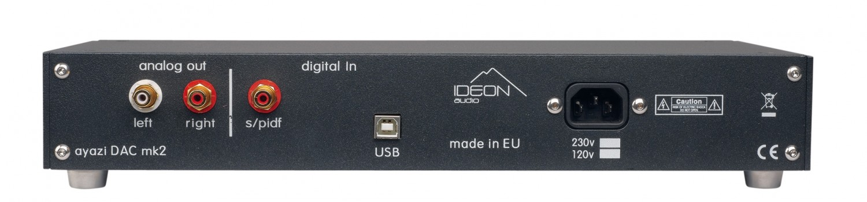 D/A-Wandler Ideon Audio Ayazi Mk 2, Ideon Audio 3R Master Time, Ideon Audio Renaissance Mk2 im Test , Bild 4