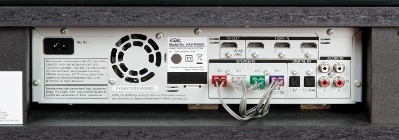 Soundbar iGo Audio HAV-R400G im Test, Bild 2