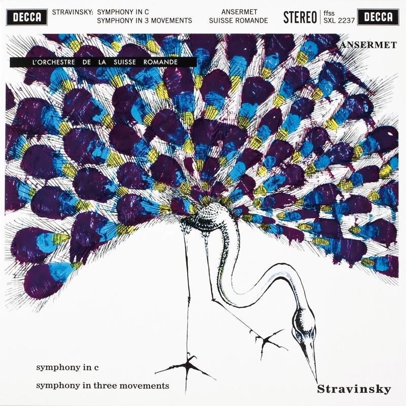 Schallplatte Igor Strawinsky – Symphonie in C, Symphonie in drei Sätzen Orchestre de la Suisse Romande, Ernest Ansermet (Decca / Speakers Corner) im Test, Bild 1