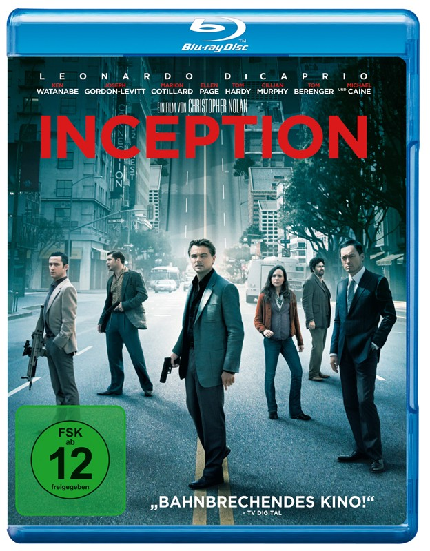 Blu-ray Film Inception (Warner) im Test, Bild 1