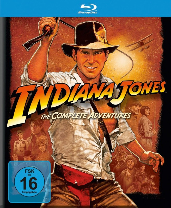 Blu-ray Film Indiana Jones - The Complete Adventures (Paramount) im Test, Bild 1