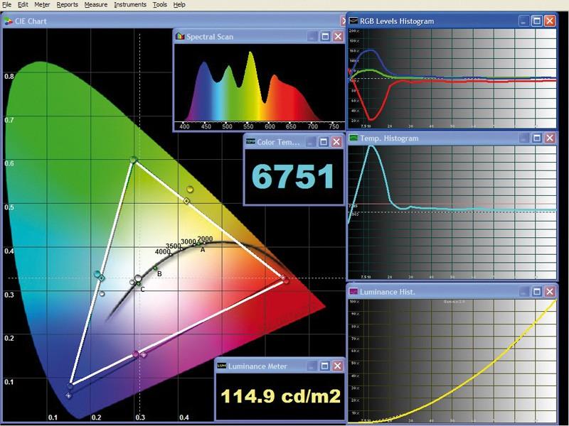 Beamer InFocus SP8600 im Test, Bild 3