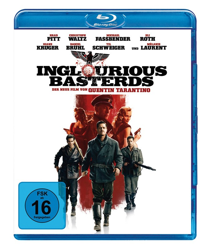 Blu-ray Film Inglourious Basterds (Universal) im Test, Bild 1