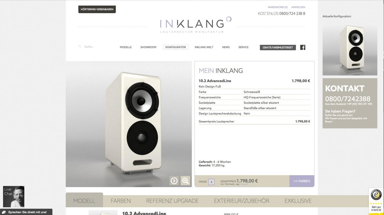 Lautsprecher Stereo Inklang Advanced Line 13.4 im Test, Bild 7