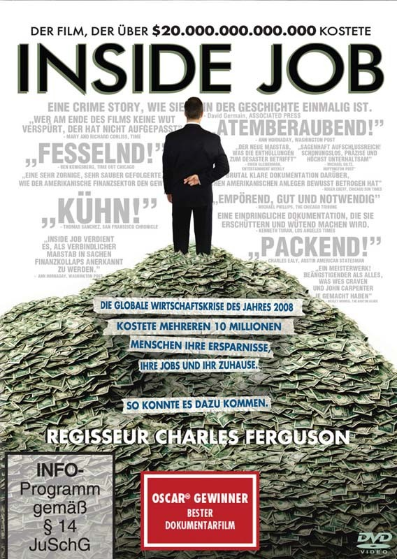 DVD Film Inside Job (Sony Pictures) im Test, Bild 1