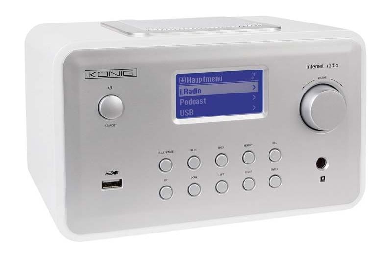 Internetradios König HAV-IR23 im Test, Bild 1