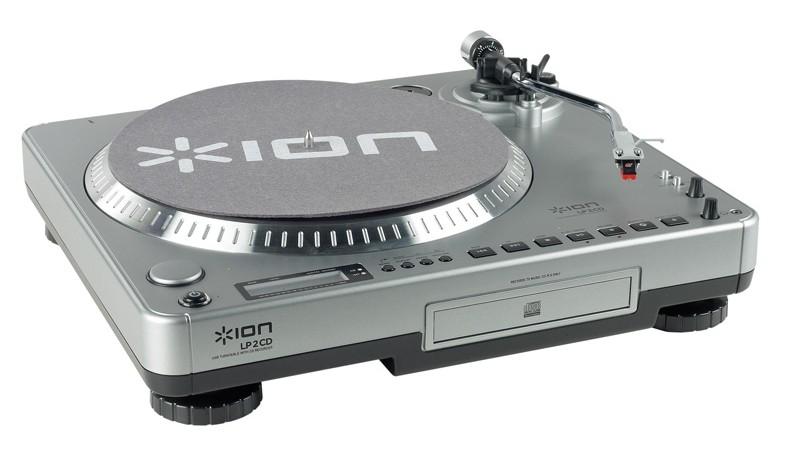 Plattenspieler USB Ion Audio LP2 CD im Test, Bild 1