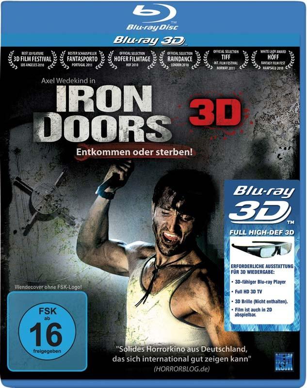 Blu-ray Film Iron Doors – Entkommen oder sterben! 3D-Blu-ray (KSM) im Test, Bild 1