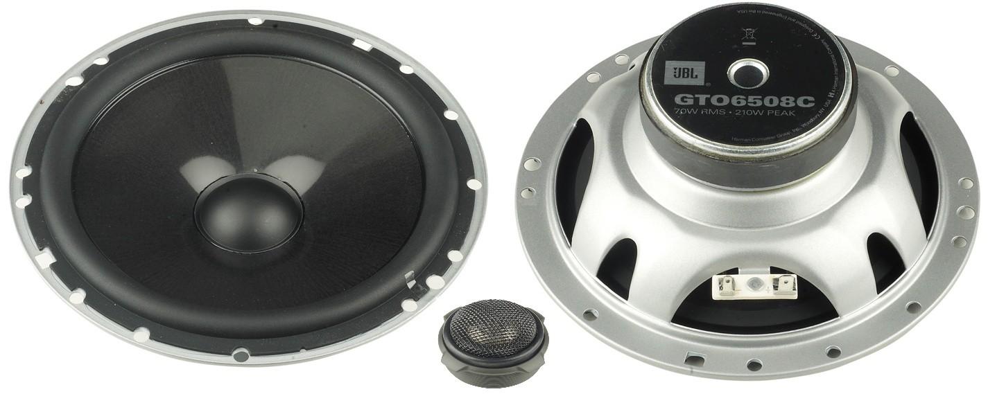 Test Car-HiFi-Lautsprecher 16cm - JBL Car GTO 6508C - sehr gut