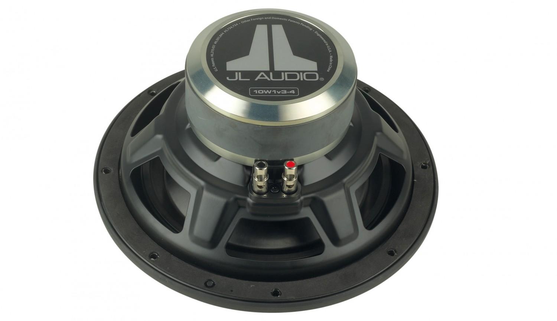 test car hifi subwoofer chassis jl audio 10w1v3 4 sehr. Black Bedroom Furniture Sets. Home Design Ideas
