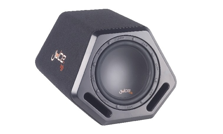 test car hifi subwoofer aktiv juice a8 sehr gut. Black Bedroom Furniture Sets. Home Design Ideas