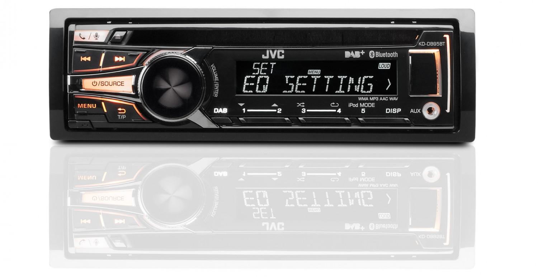 1-DIN-Autoradios JVC KD-DB95BT im Test, Bild 1