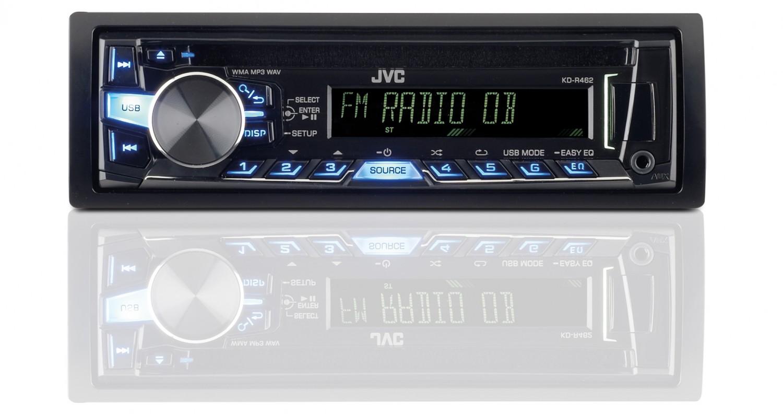 1-DIN-Autoradios JVC KD-R462 im Test, Bild 1