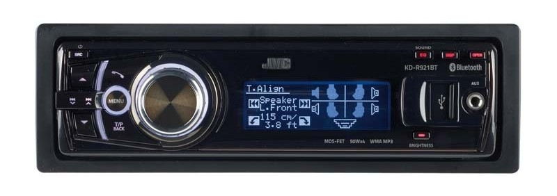 1-DIN-Autoradios JVC KD-R921BT im Test, Bild 1