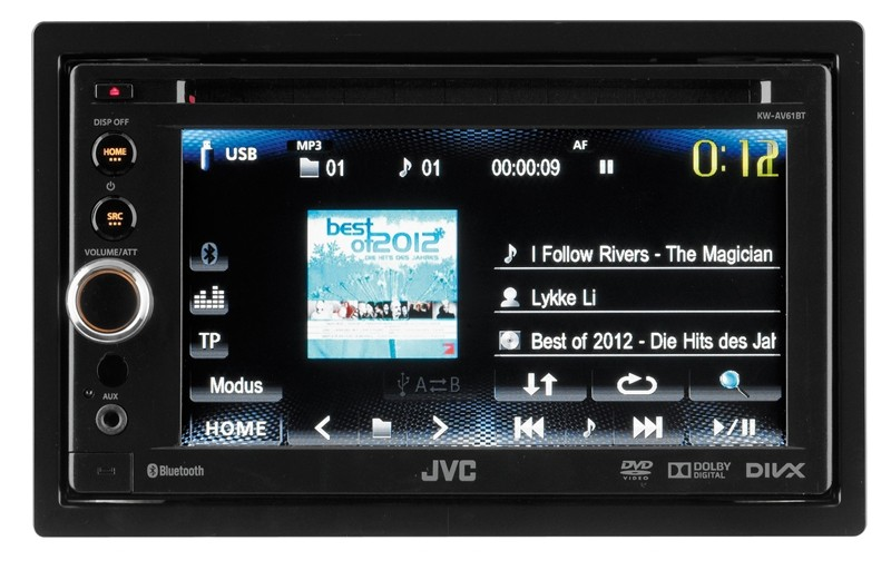 Moniceiver JVC KW-AV61BT im Test, Bild 1
