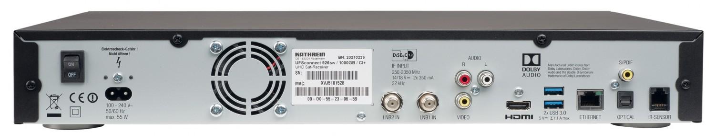 Sat Receiver mit Festplatte Kathrein UFSconnect 926 im Test, Bild 4